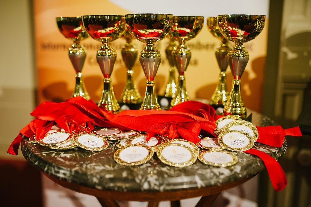 FEURICH Competition 2017: Trophies and medals