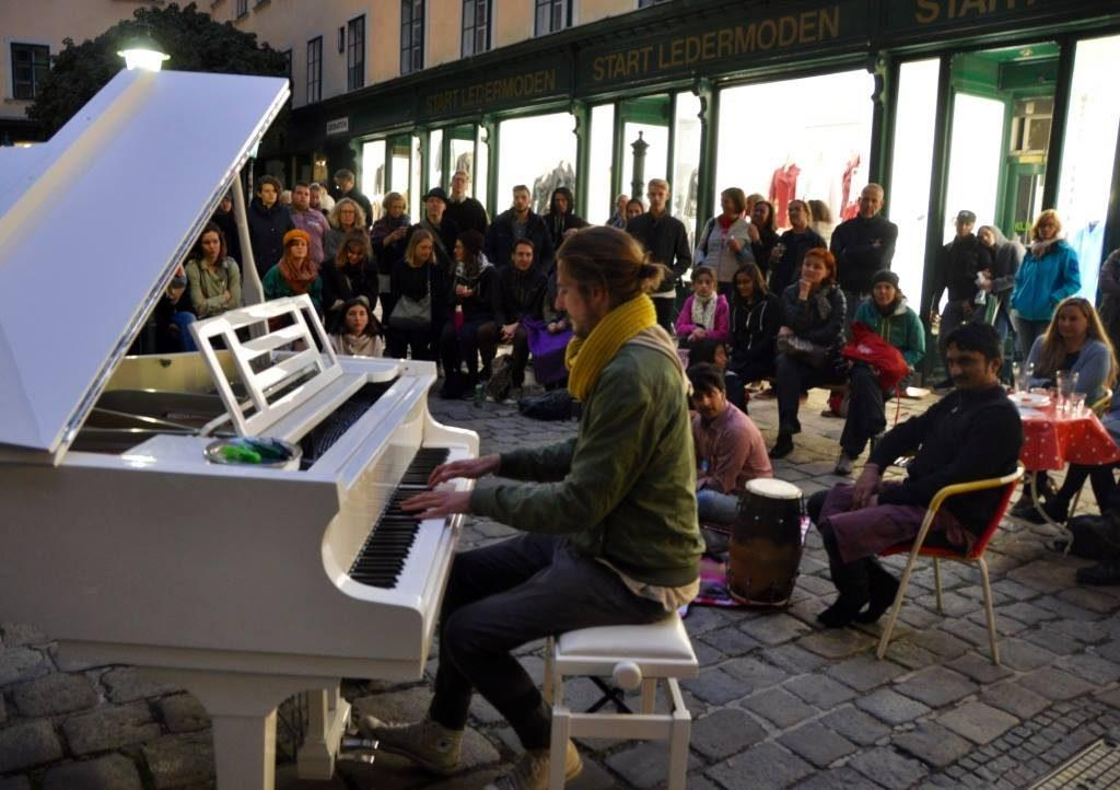 Open Piano for Refugees 2017 Udo Felizeter